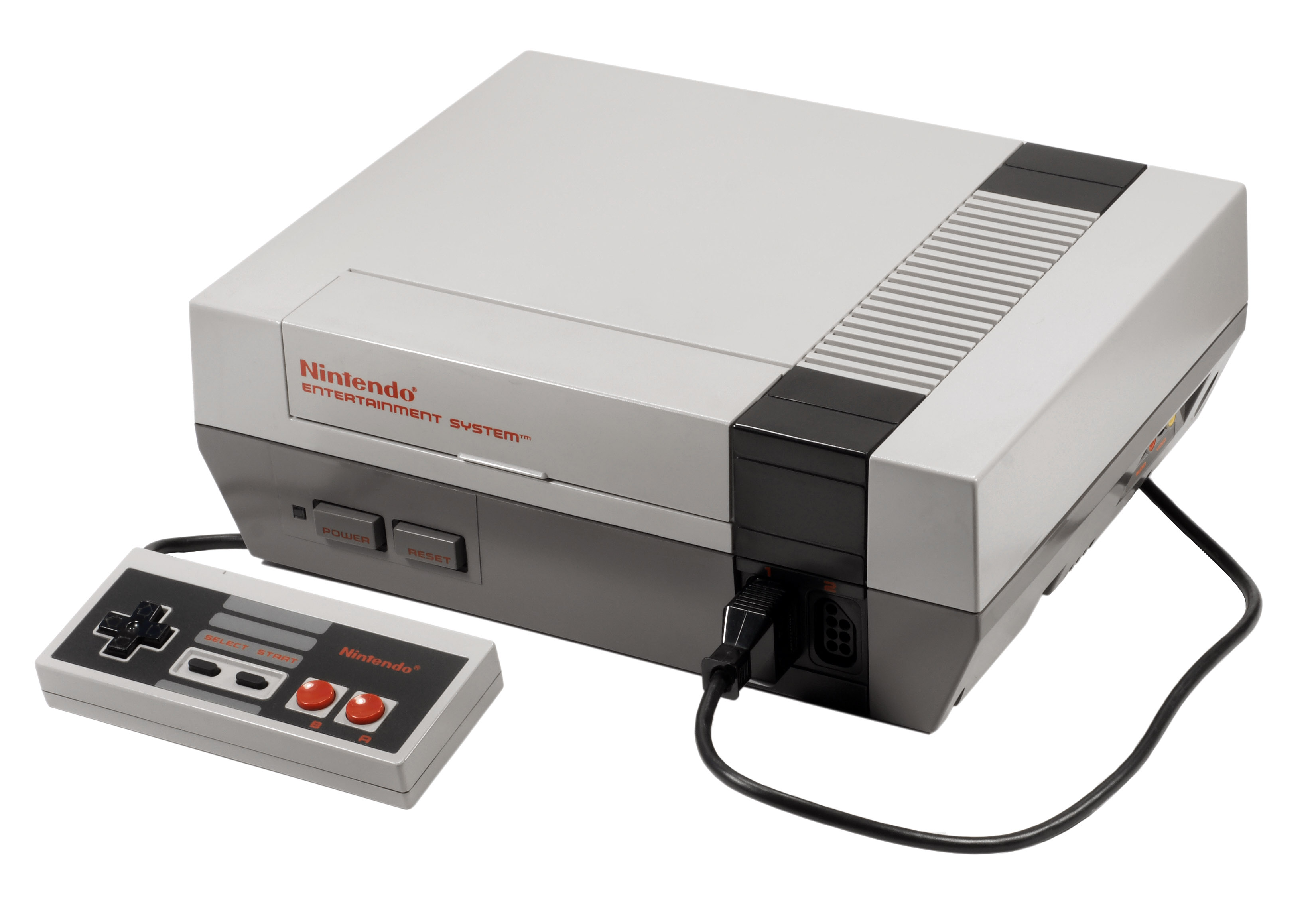 Nintendo Entertainment System (NES) with Controller